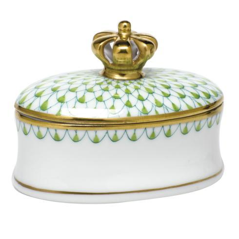 Box with Crown - Key Lime