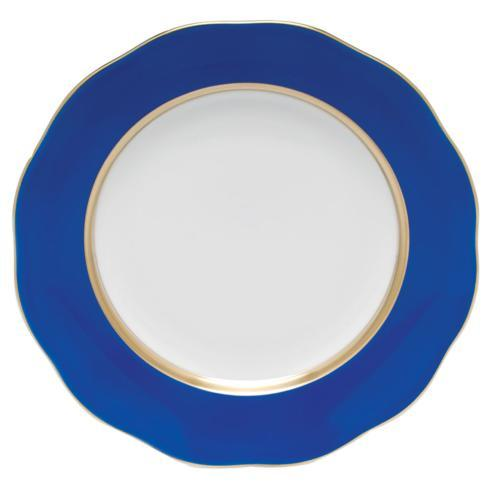 Herend  Silk Ribbon Dessert Plate Blue $115.00