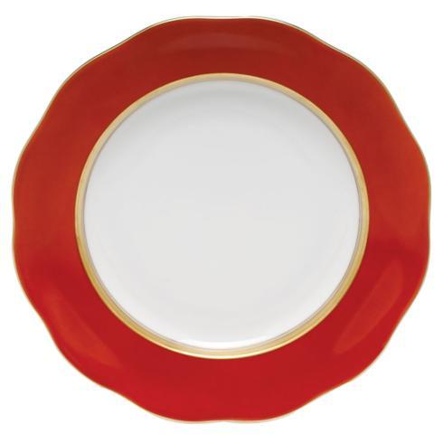 Herend  Silk Ribbon Dessert Plate Pumpkin $115.00