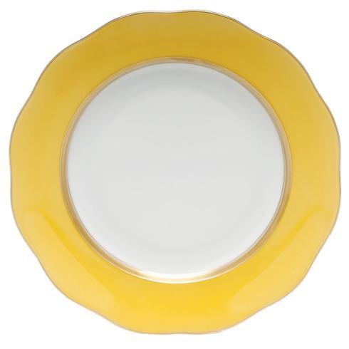 Service Plate Lemon