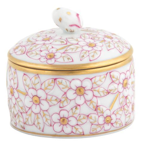 $120.00 Round Relief Box with Berry