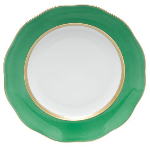Herend Collections Silk Ribbon Dessert Plate Mint $115.00