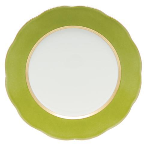 $175.00 Service Plate Olive