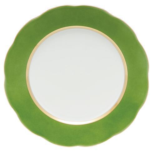 Herend  Silk Ribbon Service Plate Fern $175.00