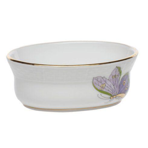 Herend  Royal Garden Mini Oval Bowl $75.00