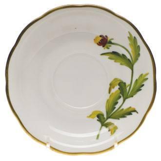$110.00 Tea Saucer - Indian Blanket Flower