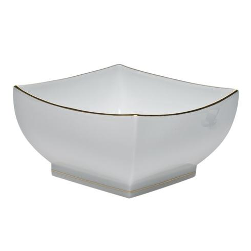 Herend  Golden Edge Large Square Bowl $205.00