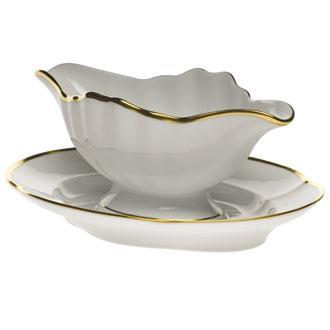 $385.00 Gravy Boat W/Fixed Stand