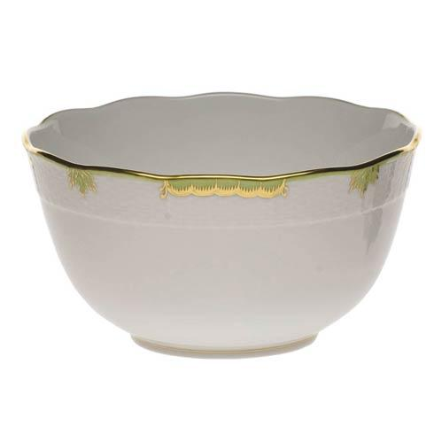 Herend Princess Victoria Green Round Bowl $135.00