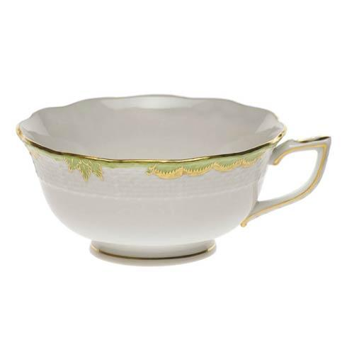 Herend  Princess Victoria Green Tea Cup $85.00