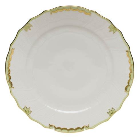 Herend  Princess Victoria Green Dinner Plate $110.00