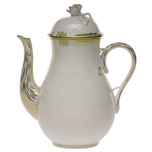 $310.00 Coffee Pot W/Rose