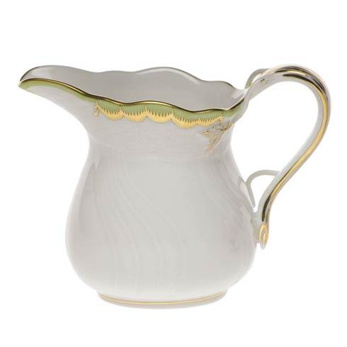 Herend Princess Victoria Green Creamer $100.00