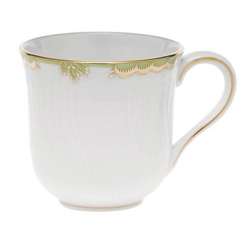 Herend Princess Victoria Green Mug - Multicolor $120.00