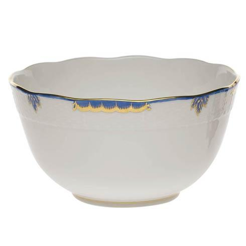 Herend  Princess Victoria Blue Round Bowl $135.00