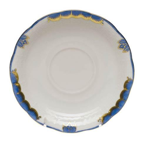 Herend Collections Princess Victoria Blue Tea Saucer $40.00