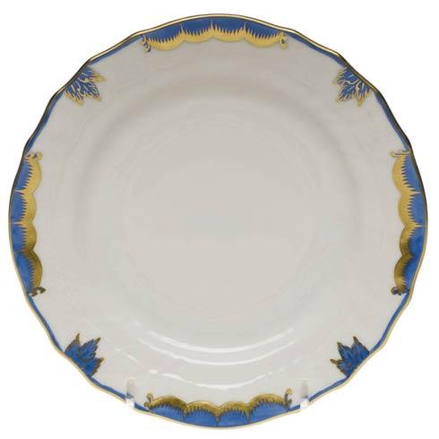 Herend  Princess Victoria Blue Bread & Butter Plate $70.00
