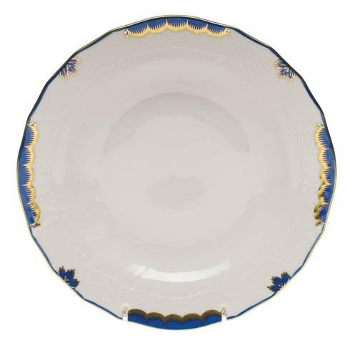 Herend Collections Princess Victoria Blue Dessert Plate $85.00
