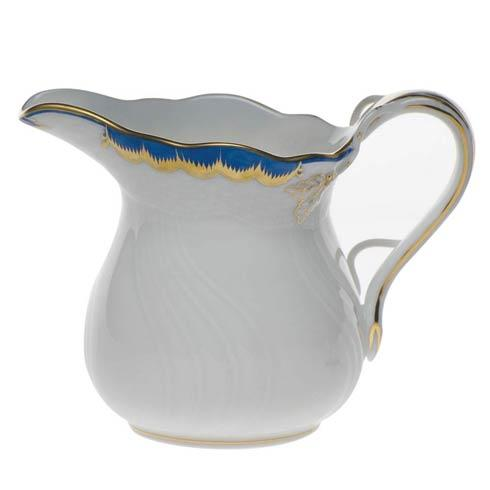 Herend Princess Victoria Blue Creamer $100.00