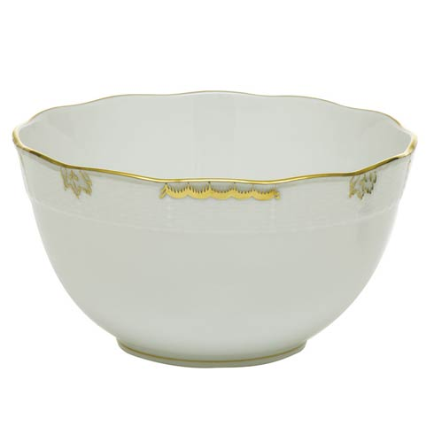 Herend Collections Princess Victoria Gray Round Bowl  $135.00