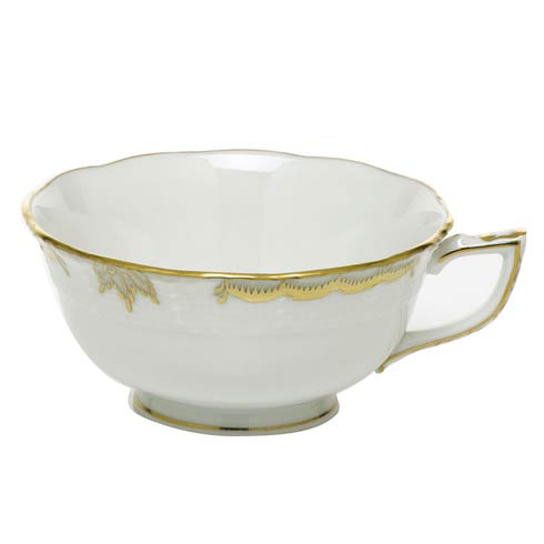 Herend  Princess Victoria Gray Tea Cup - Gray $85.00