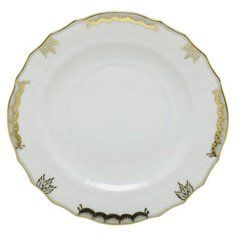 Herend  Princess Victoria Gray Salad Plate - Gray $80.00