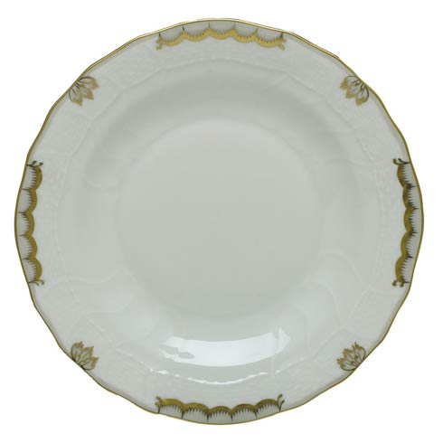 Herend  Princess Victoria Gray Dessert Plate - Gray $85.00
