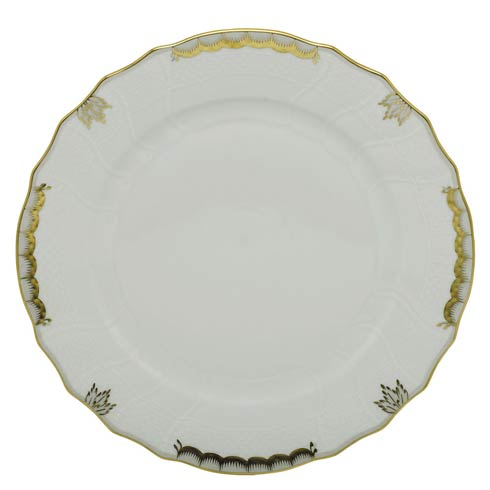 Herend Princess Victoria Gray Dinner Plate - Gray $110.00