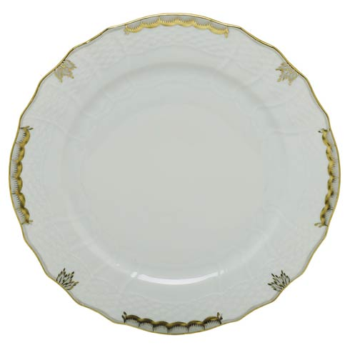 Herend Princess Victoria Gray Service Plate - Gray $135.00