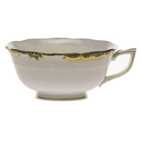 Herend  Princess Victoria Black Tea Cup $85.00