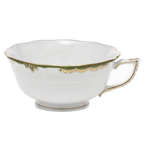 Herend Princess Victoria Dark Green Cup $85.00