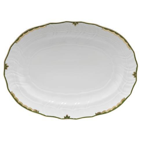 Herend Princess Victoria Dark Green Platter $360.00