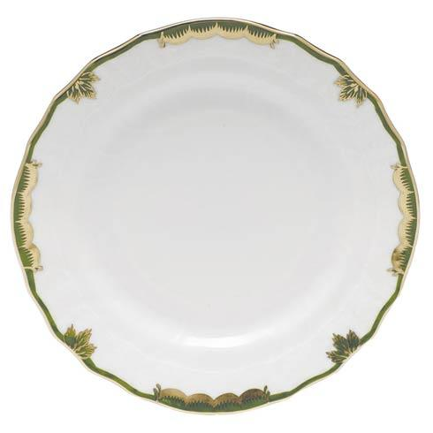 Herend Princess Victoria Dark Green Bread & Butter Plate $70.00