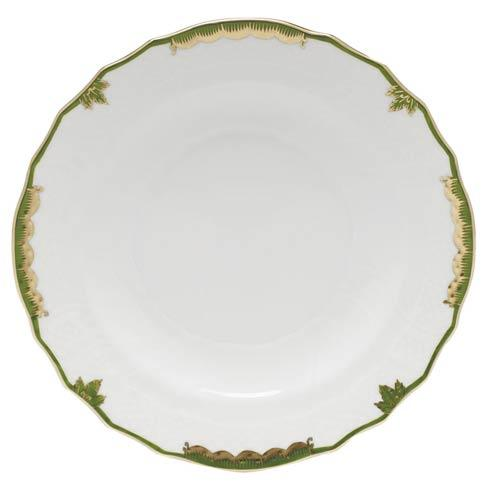 Herend Princess Victoria Dark Green Salad Plate $80.00