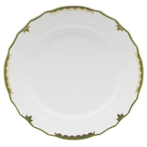 Herend Princess Victoria Dark Green Dinner Plate $110.00