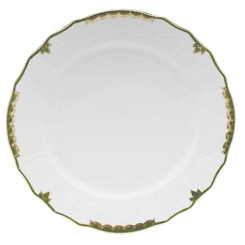 Herend  Princess Victoria Dark Green Service Plate $135.00
