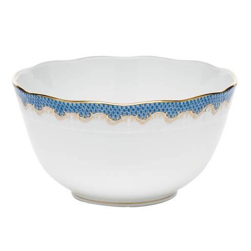 $375.00 Round Bowl - Blue