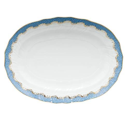 Herend Fish Scale Blue Platter - Blue $725.00