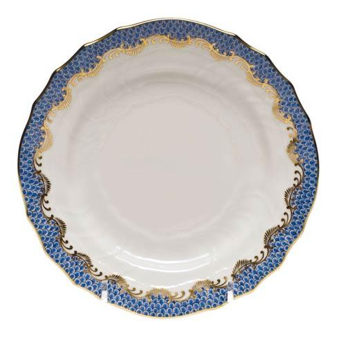 Herend Fish Scale Blue Bread & Butter Plate - Blue $175.00