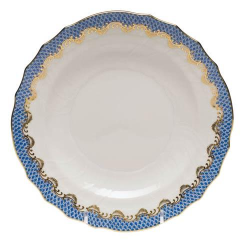 Herend Fish Scale Blue Salad Plate - Blue $195.00