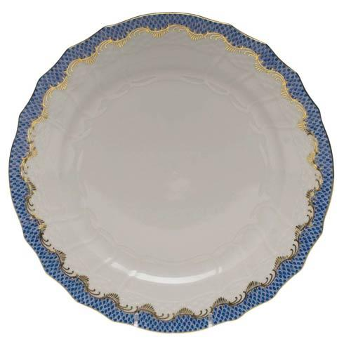 Herend Fish Scale Blue Service Plate - Blue $335.00
