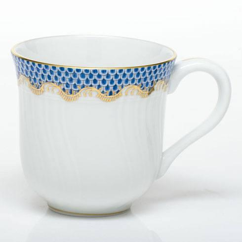 Herend  Fishscale Blue Mug - Blue $310.00