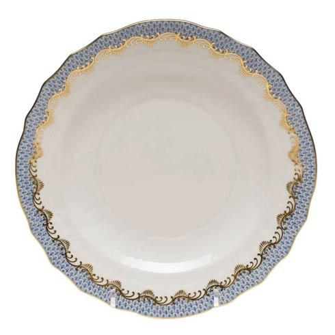 Herend  Fishscale Light Blue Salad Plate - Light Blue $215.00