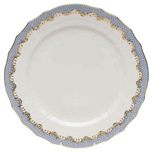 Herend  Fishscale Light Blue Service Plate - Light Blue $370.00