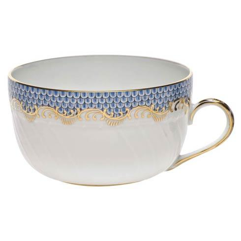Herend  Fishscale Light Blue Canton Cup - Light Blue $210.00