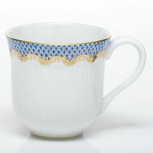 Herend Fish Scale Light Blue Mug - Light Blue $280.00