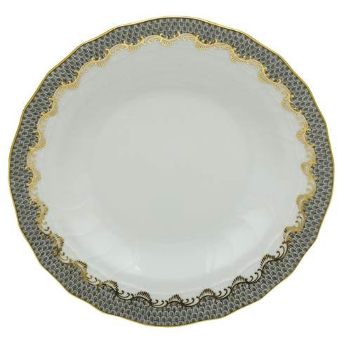 $240.00 Rim Soup Plate - Gray