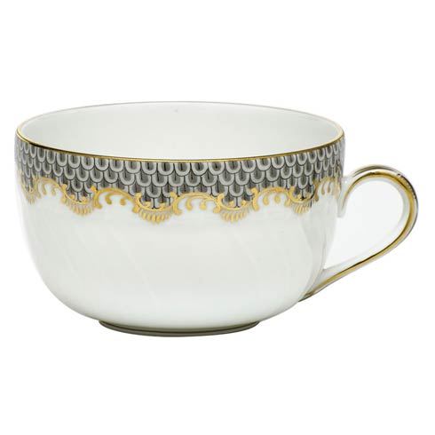Herend Fish Scale Gray Canton Cup - Gray $210.00