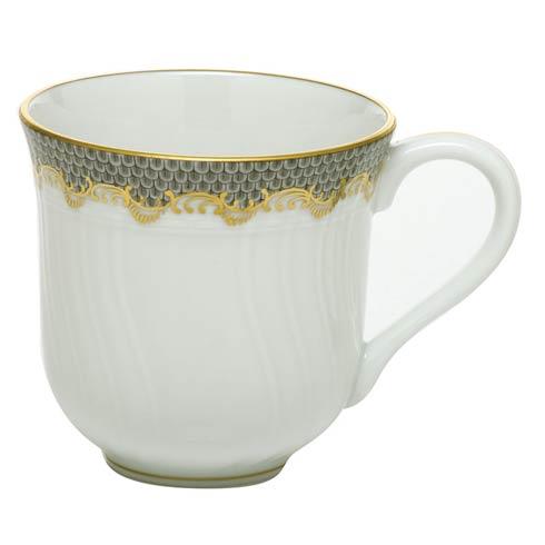 Herend  Fishscale Gray Mug - Gray $310.00