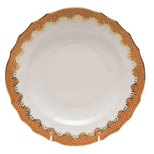 Herend Collections Fishscale Rust Salad Plate  $215.00